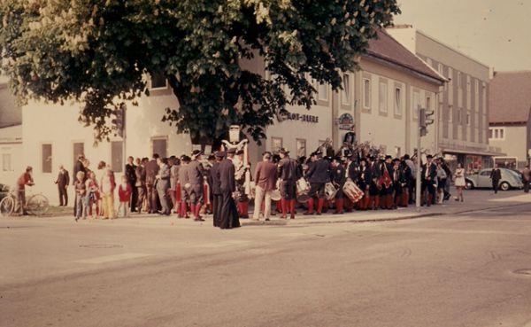 Fahnenweihe Isaria 1974