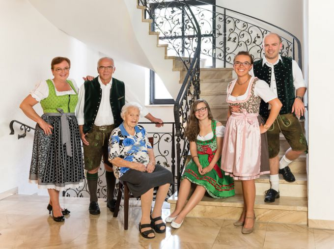 Familie Gumberger 3 Generationen